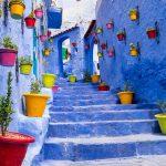 alkarim voyage narrow blue streets